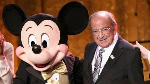 Meghalt Disney jobbkeze, Marty Sklar