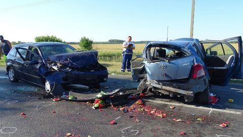 Halálos baleset történt Deszk közelében