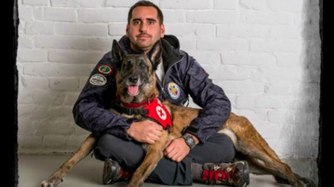 Meghalt Aqua, a hős magyar mentőkutya