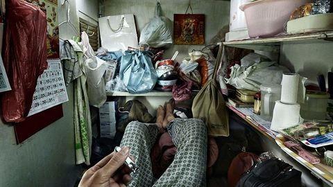 Sokkoló képek a hongkongi koporsólakásokról