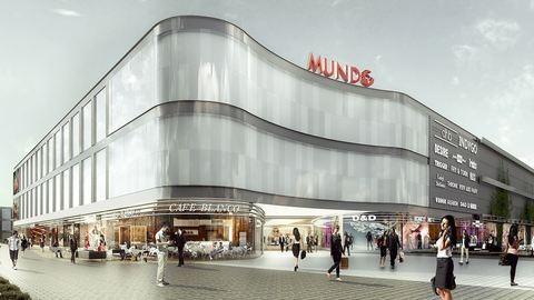 Új bevásárlóközpont épül Budapesten