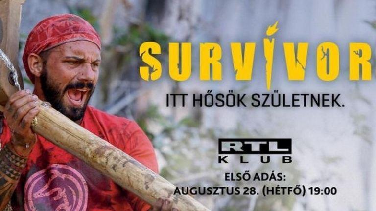 Augusztus végén megint indul a Survivor