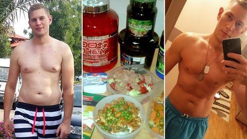 Úgy lefogytam 25 kilót, hogy egy percig sem voltam éhes – ismerjétek meg Krisztián történetét