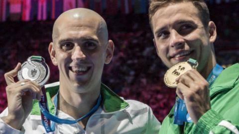 Nézd, melyik magyar úszóval bulizott a világbajnok Chad le Clos!