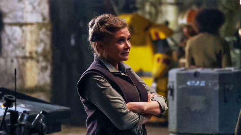 Carrie Fisher a Star Wars: Az ébredő Erőben