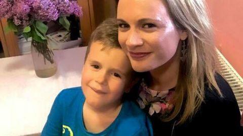 Kovács Ági fia máris édesanyja nyomdokaiba lépett