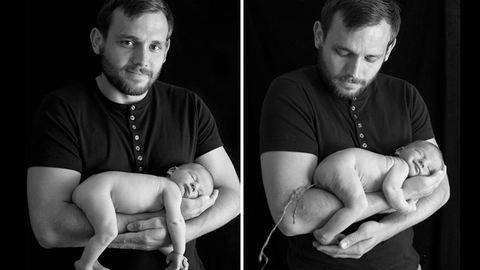 14 kisbaba, akinek muszáj volt tönkretennie a tökéletes családi fotót