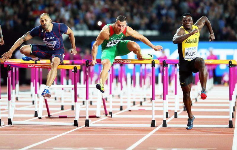 Baji Balázs bronzérmes 110 méter gáton