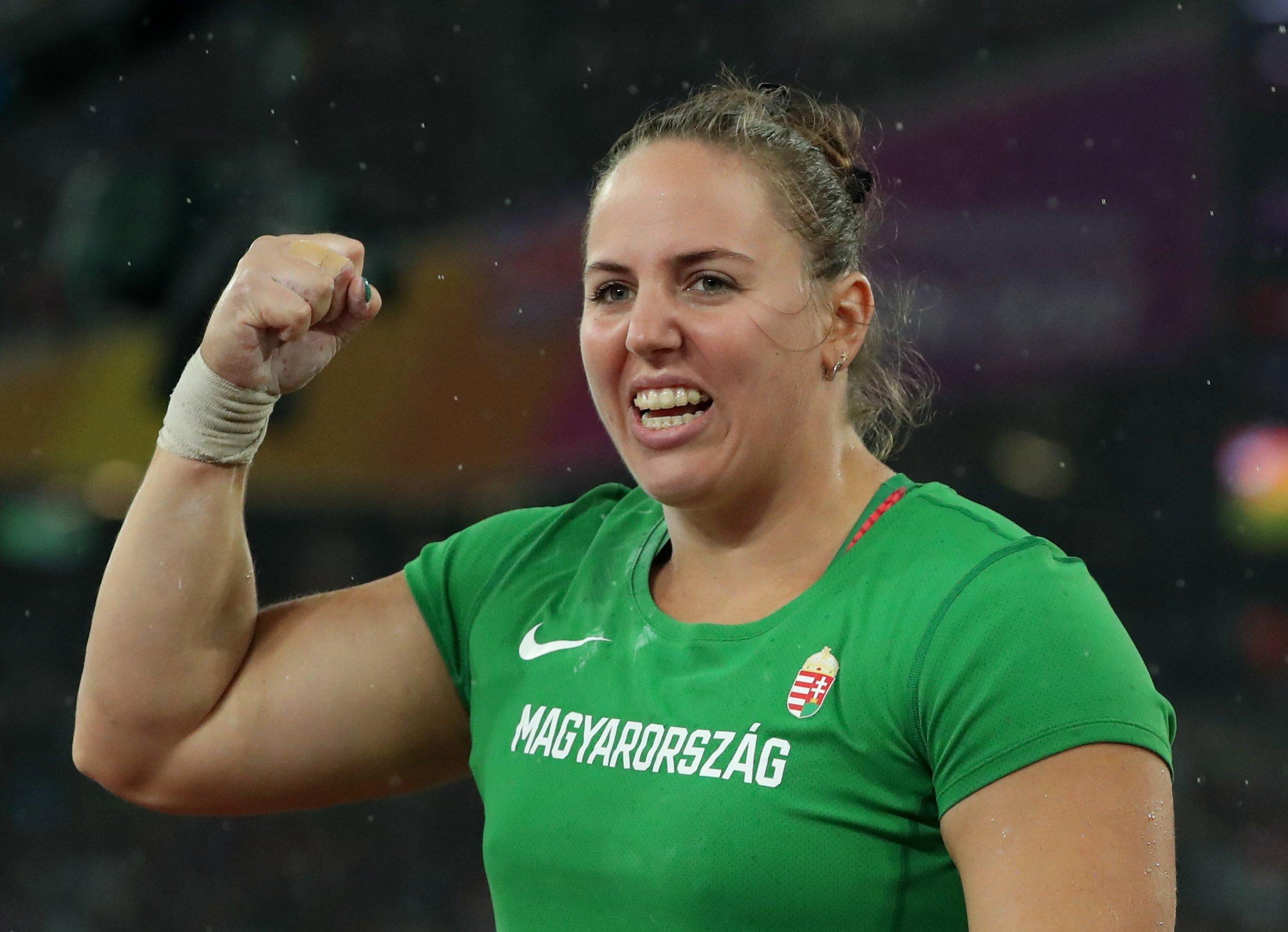 Márton Anita súlylökő ezüstérmet nyert az atlétikai világbajnokságon