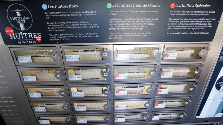 Már automatából is vehetnek osztrigát a franciák