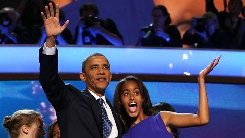 Obama lánya Lena Dunhammel és Halle Berryvel dolgozott együtt