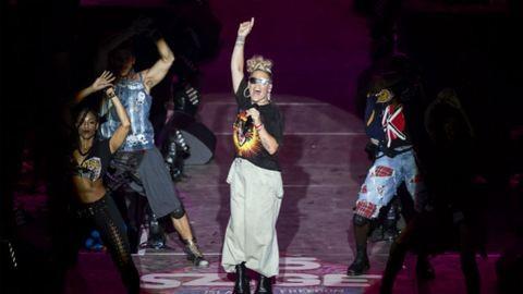 Egy nappal a budapesti koncertje után kijött Pink legújabb száma