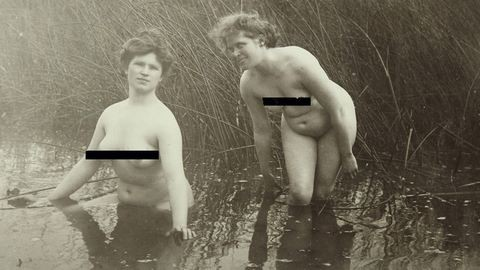 Szőr és idomok: így meztelenkedtek a nők az 1900-as évek elején