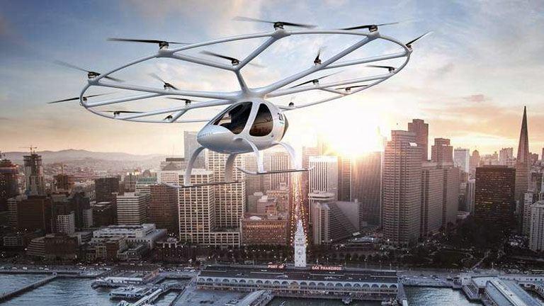 Itt a jövő: kezdődik a repülő taxik tesztje Dubajban - fotók