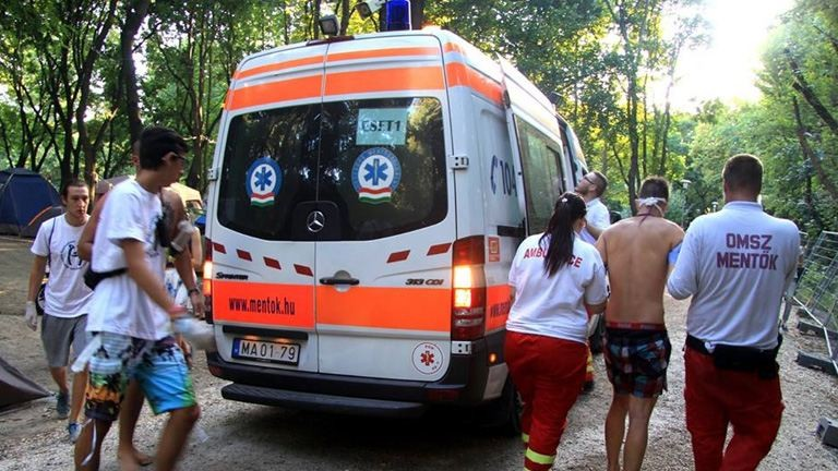 Több mint 200 embert vittek kórházba a Szigetről