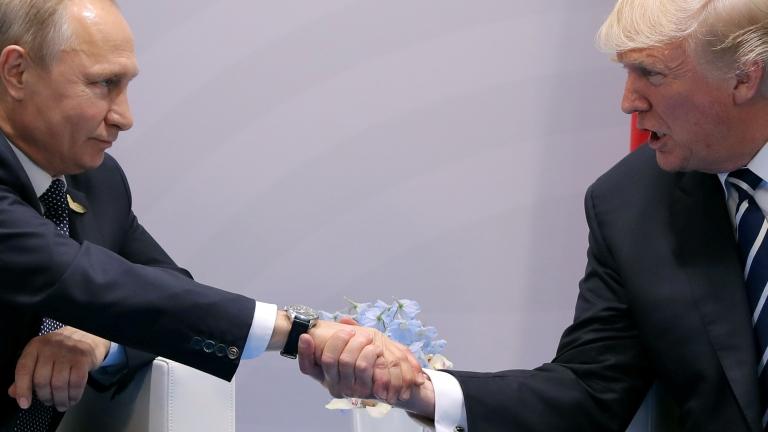 Vlagyimir Putyin és Donald Trump