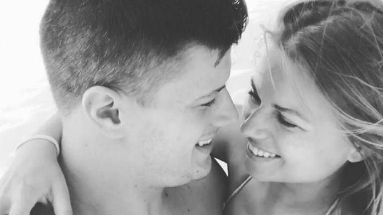 Gyurta Dani és Cserpes Laura szerelmes képe mesés