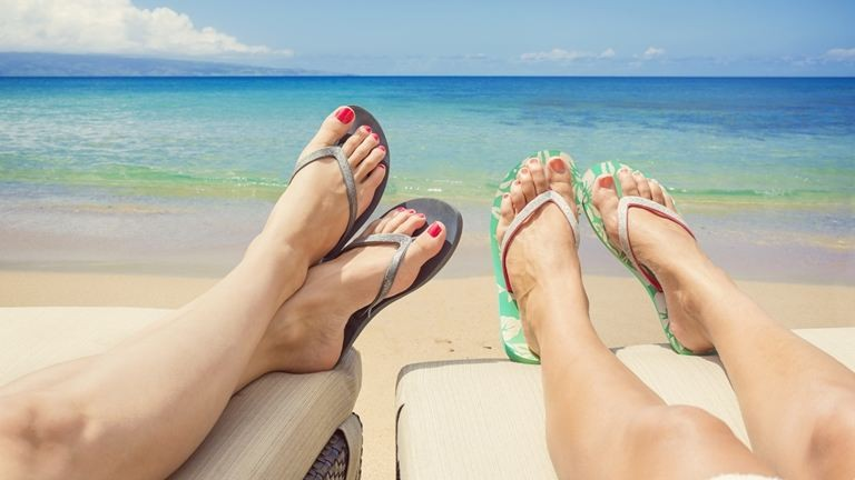 Ápolt lábak nyáron – így csináld