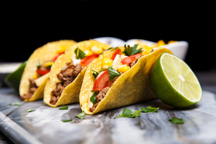 Taco, burrito, quesadilla - Tex-Mex street food kisokos