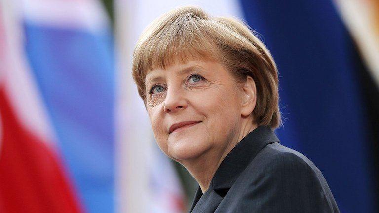 Szír menekült családba született Angela Merkel