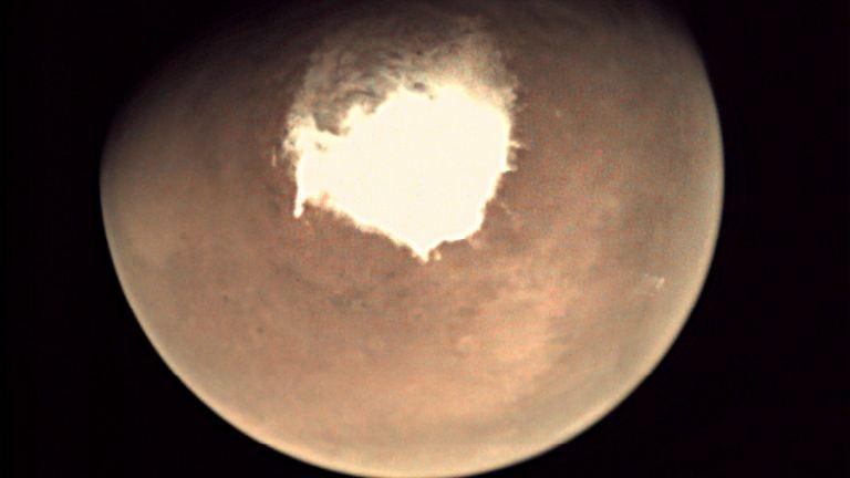 Éjszakánként havazik a Marson