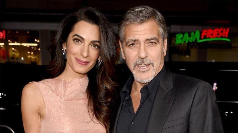 George Clooney és felesége hatalmas összeget adományozott