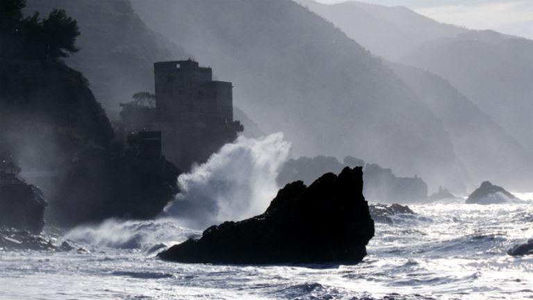Monterosso meredek partszakasza.