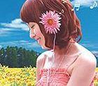 Tavaszi hangulatú fülhallgató