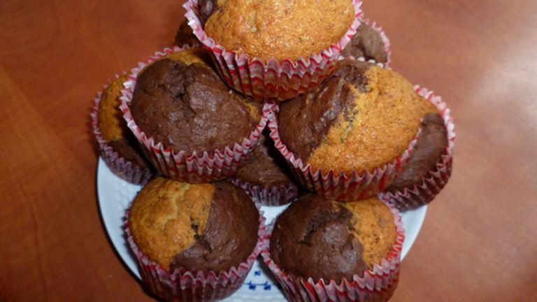 Banános-kakaós muffin