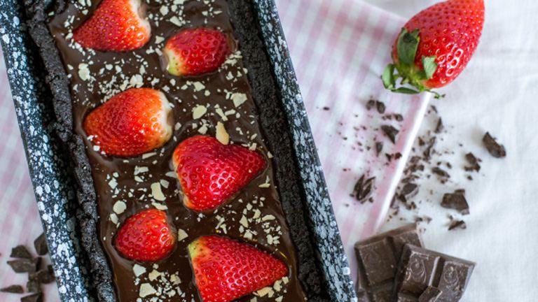 Epres csokitorta, sütés nélkül