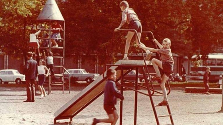 Ilyen volt az élet régen a játszótereken