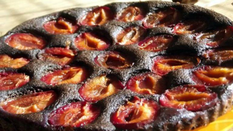Szilvás-mákos pite alakbarát formában