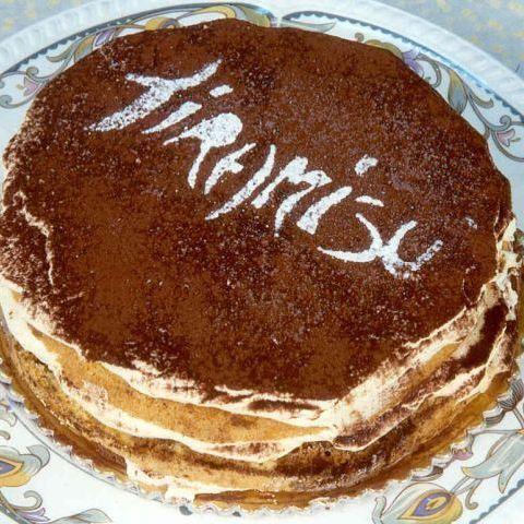 tiramisu recept