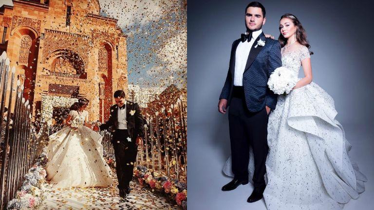 Ilyen egy pokolian gazdag orosz esküvő – fotók