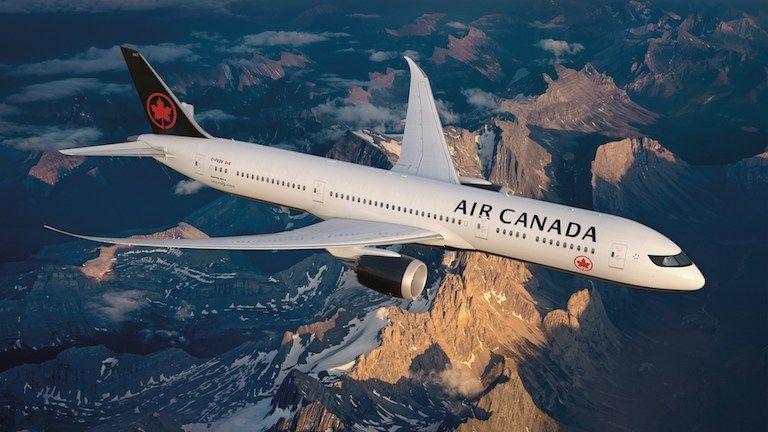 repülőgép, Air Canada (fotó: CNW Group/Air Canada)