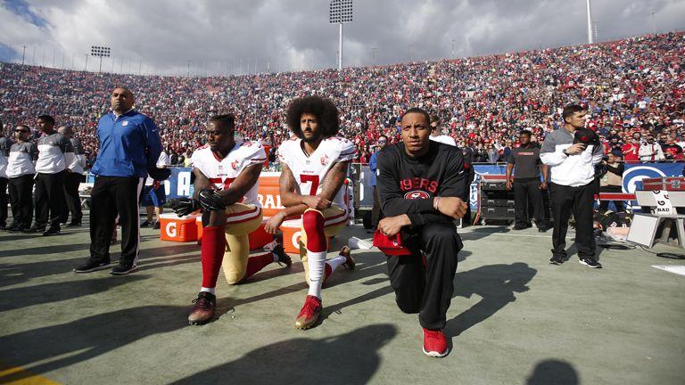 nfl black lives matter donald trump usa rendőri erőszak tiltakozás amerikai foci