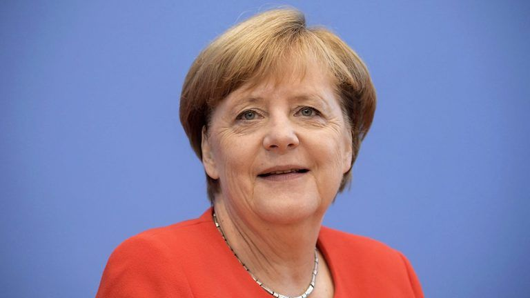 Angela Merkel (fotó: MTI/EPA/Clemens Bilan)