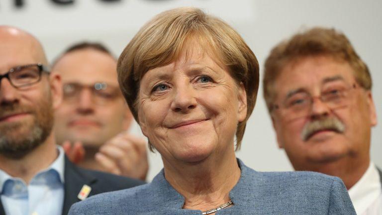 angela merkel német választás cdu politika