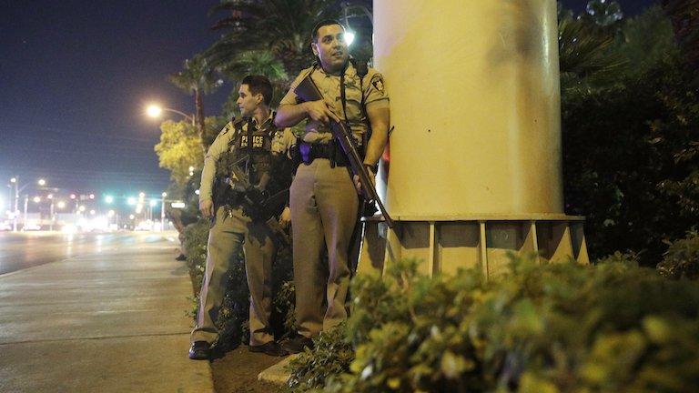 las vegas, lövöldözés (MTI/AP/John Locher)