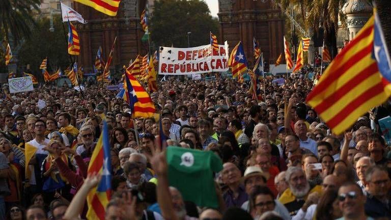 Katalónia, népszavazás (fotó: MTI/AP/Francisco Seco)
