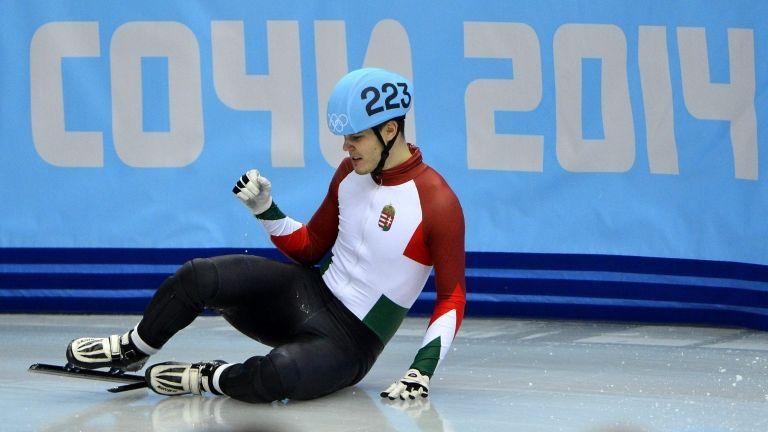 Knoch Viktor, Szocsi, téli olimpia (fotó: MTI / Illyés Tibor)