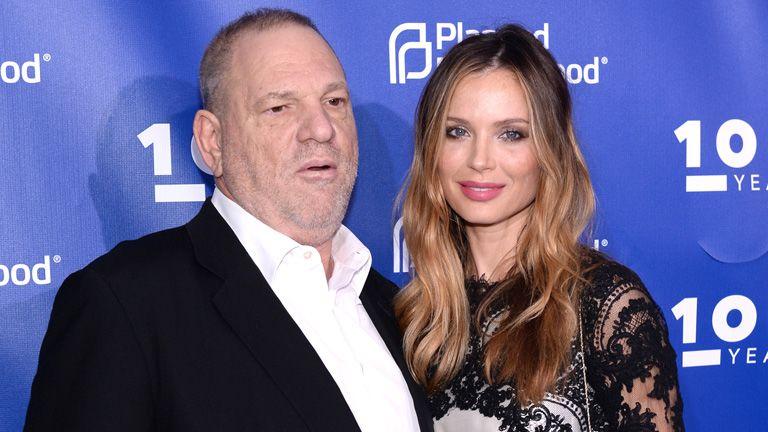 Georgina Chapman bejelentette, hogy elhagyja Harvey Weinsteint, miután a szexuális zaklatásokra fény derült (Fotó: Getty Images)