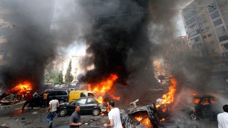 Robbantás Egyiptomban (fotó: Haitham Moussawi)