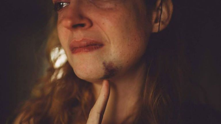 erőszak, fotó