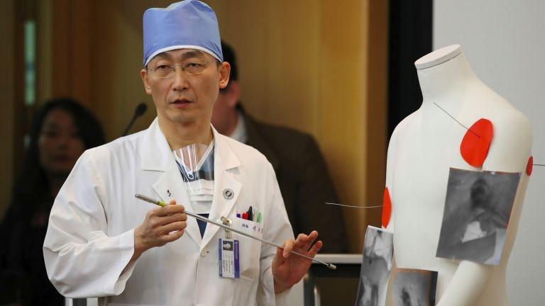 Jí Kukcsong (fotó: AFP / Yonhap)