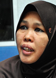 Fauziah Ariffin, a szervezet vezetője