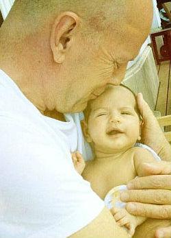 Bruce Willis legfiatalabb lánya, Mabel