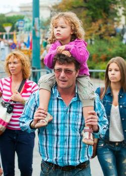 Hatalmasra nőtt Stohl András négyéves lánya - fotó