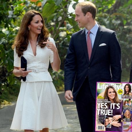 Vilmos herceg neje terhes