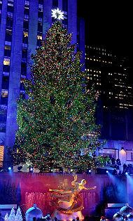 Ilyen a világ leghíresebb karácsonyfája